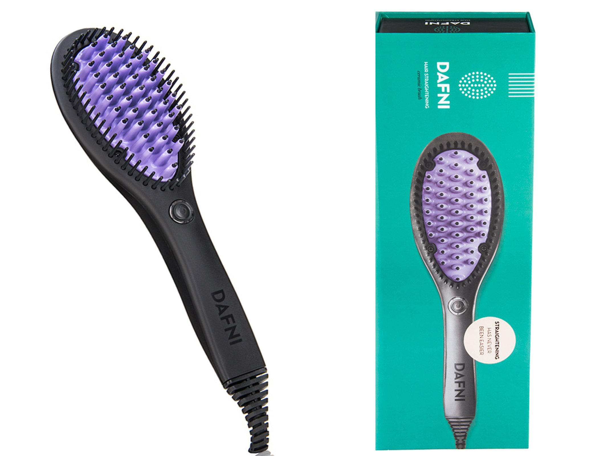 Amazon Com Dafni Go Hair Straightening Ceramic Brush