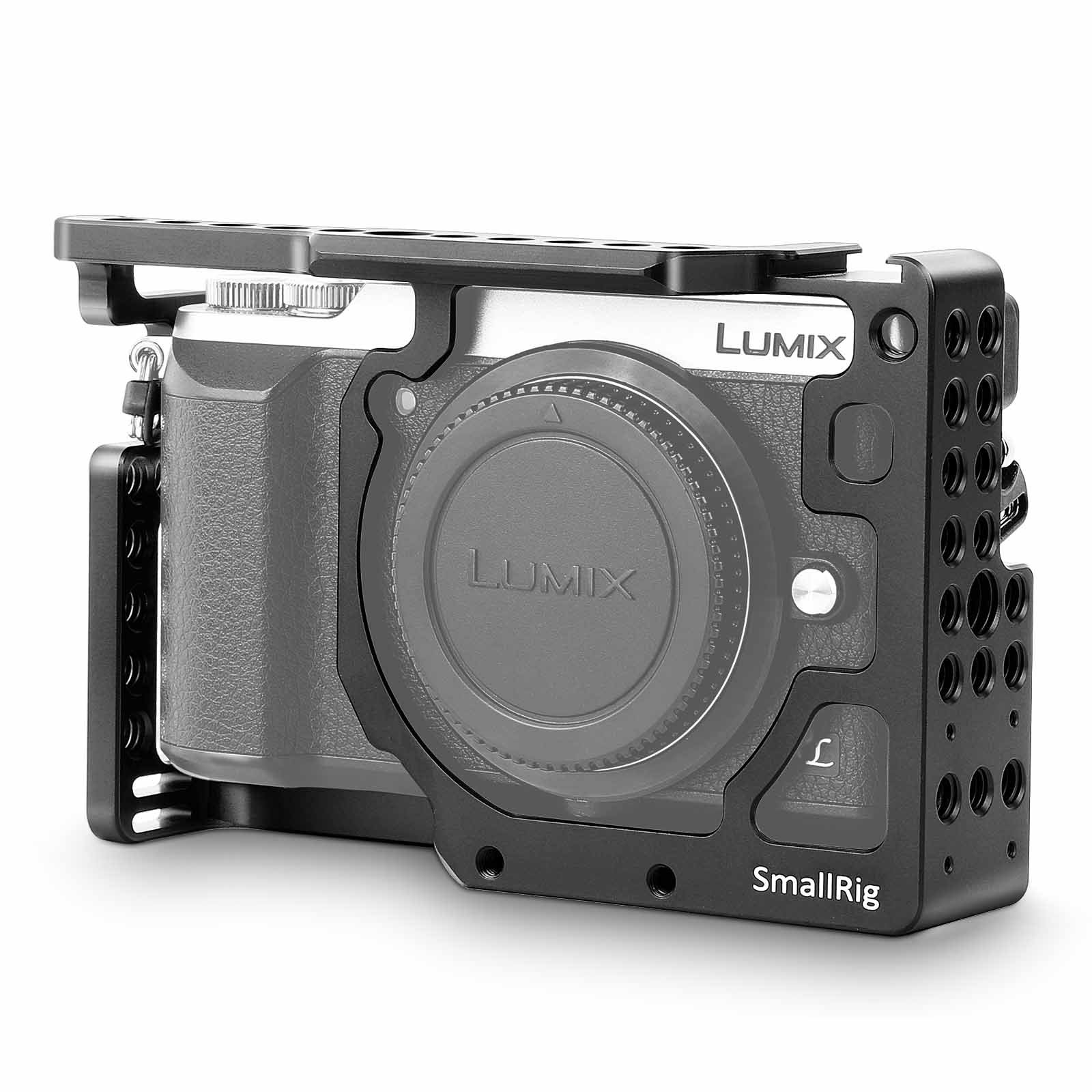 SMALLRIG 1828 Cage for Panasonic Lumix DMC-GX85/GX80/GX7 ...