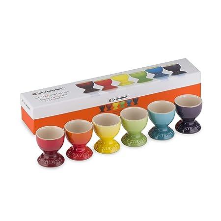 Le Creuset 91041600470010 Set de 6 hueveras arcoíris de ...