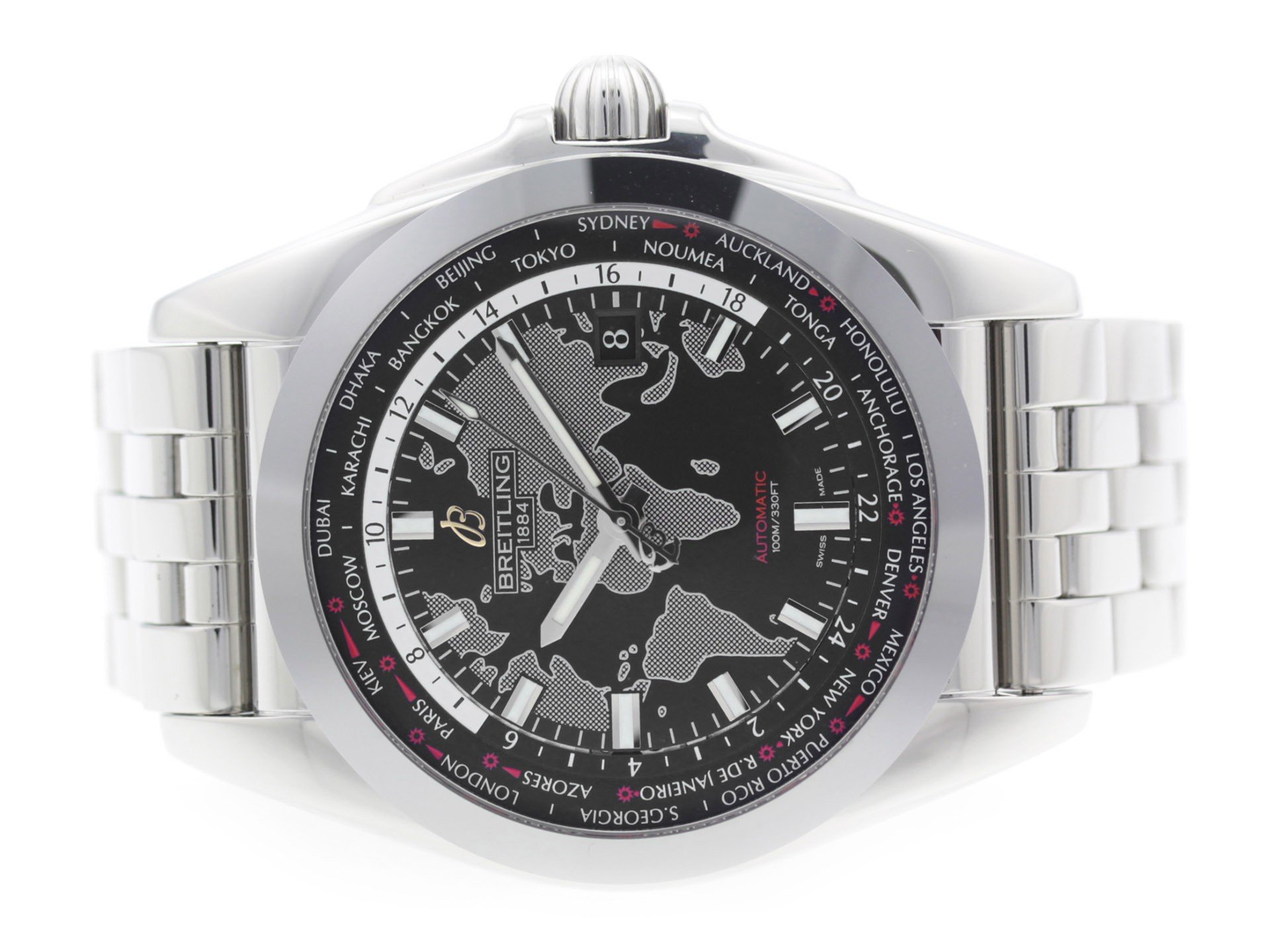 Breitling Galactic swiss-automatic mens Watch WB3510 (Certified Pre-owned) by Breitling (Image #2)