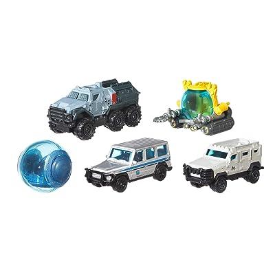 Matchbox Jurassic World Die-cast 5-Pack Assortment: Toys & Games