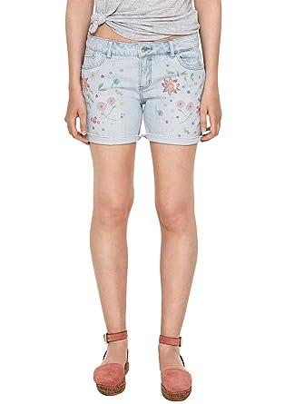 2afcdf1ecb94f3 Oliver RED LABEL Damen Smart Short: Jeans mit Embroidery: s.Oliver:  Amazon.de: Bekleidung