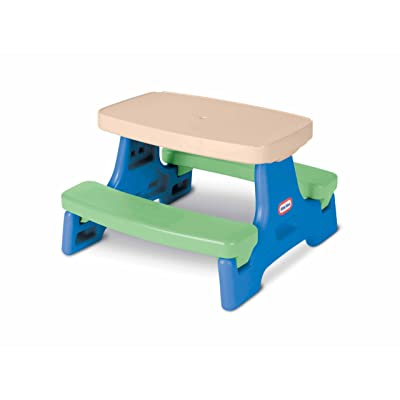 Little Tikes Easy Store Jr. Play Table [ Exclusive]: Toys & Games