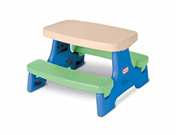 Amazon.com: Little Tikes Easy Store Junior Play Table: Toys & Games