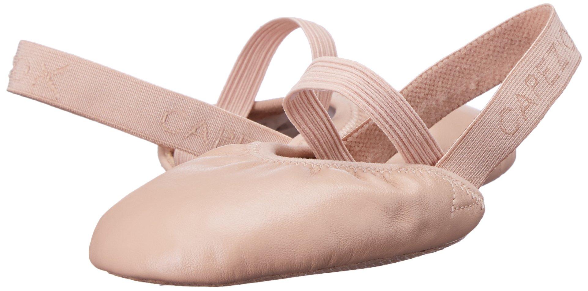 Capezio Turning Pointe 55 Women Dance Shoe, Nude, Large/10-11.5 M US
