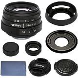 35mm F/1.6 Prime E Mount Lens Kit for Sony E-Mount APS-C Mirrorless Cameras, Sony A7/A7S/A7R, A7 II/A7S II/A7 R II, A9/A99 II, A6500, A6300, A6000, A5100, NEX-7, NEX-5/5C/5N/5R, NEX-VG10E