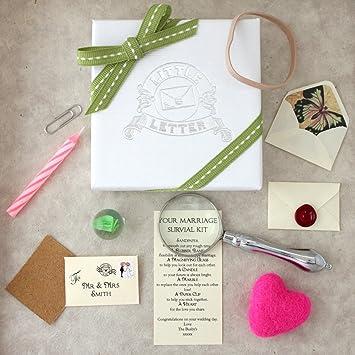 Personalised Wedding Gift - Marriage Survival Kit: Amazon.co.uk ...