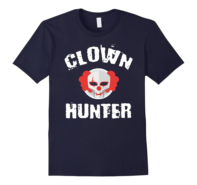 Clown Hunter Shirt Creepy Clown Halloween Tee-CL