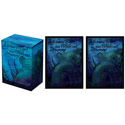 Legion Supplies Kraken Deck Box and 100 Double Matte Sleeves: Toys & Games