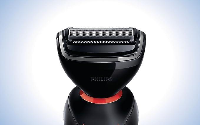 Philips Norelco YS524/41 - Afeitadora (Negro, Batería, 1h, 100 ...