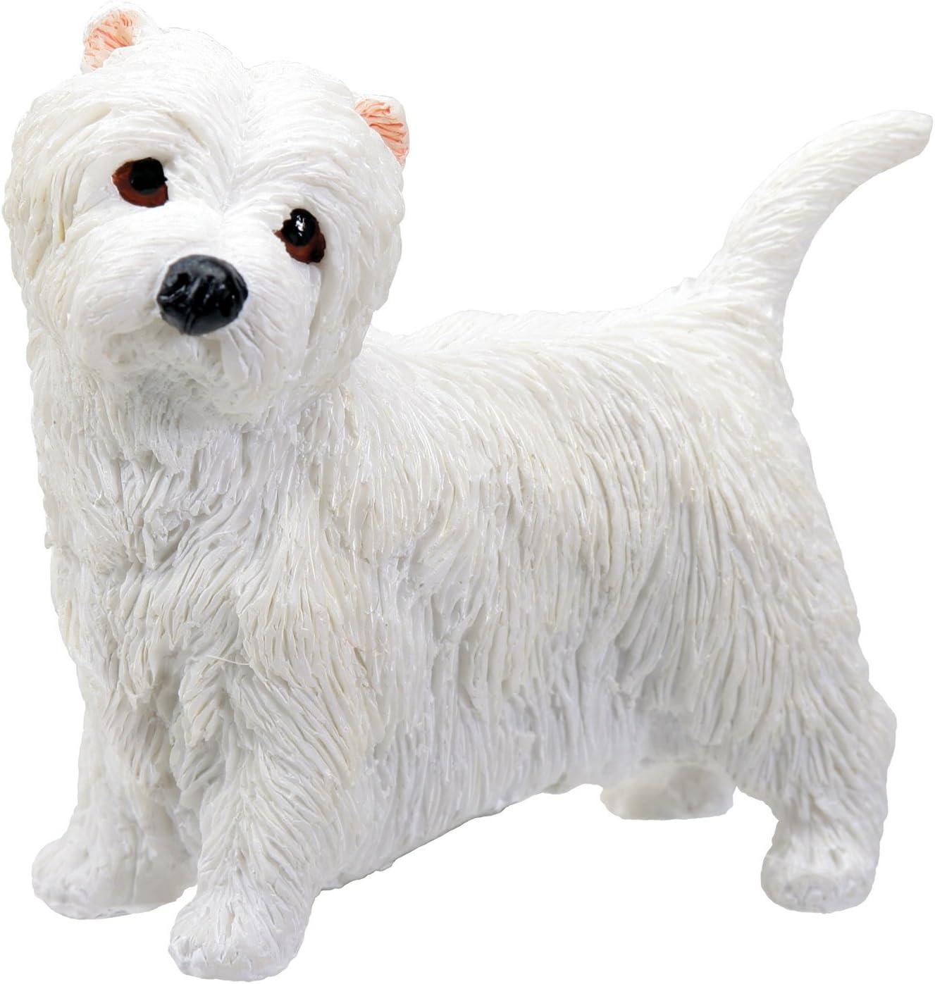 YTC Summit West Highland Terrier Puppy/Dog - Westie Statue Figurine Sculpture, Multi Color