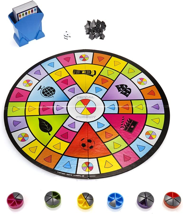 Hasbro - Juegos en Familia Trivial Pursuit Party (A5224105 ...