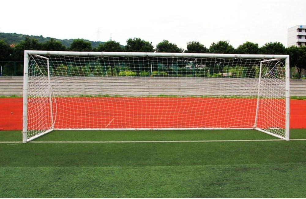 24 x 8ft pour Filet de Rechange de Football pour Feild Tbest Filet de Poteau dentra/înement en poly/éthyl/ène de Football Format Standard 10 x 7pi 18 x 7ft Filet de But pour Football