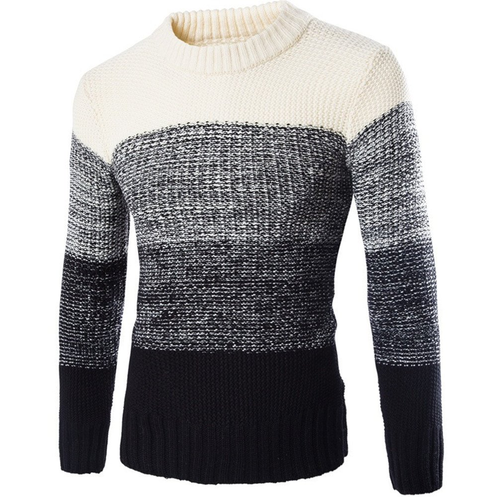 Männer - pullover im herbst und winter,Beige,XXL,