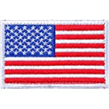 BX warehouse Tactical USA Flag Patch (red white&blue 1)