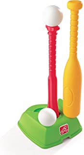 product image for Step2 2-in-1 T-Ball and Golf Set Toy - Outdoor Play Golf Baseball Set for Kids - Durable Plastic Toys - Red/Green/Yellow