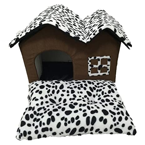 ZHJZ Cómodo Casa para Mascotas Yukong Pets Casa Cama, Mascotas Perro Gato BePets Casa Cama