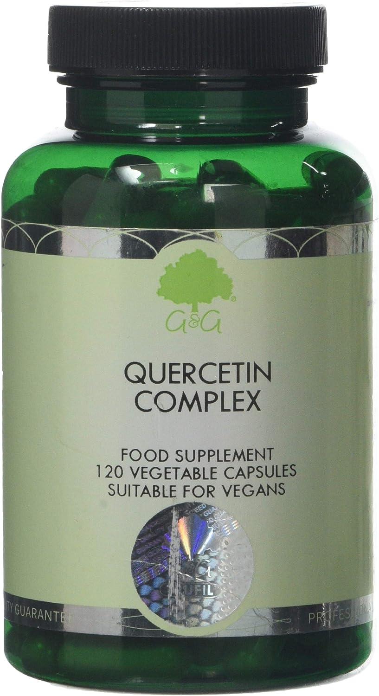 G&G Vitamins Quercetin Complex (X 120 Capsules)