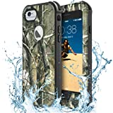 iPhone 6 Waterproof Case, IP68 ZVEproof iPhone 6/6s Case, Full Body Protective Shockproof Snowproof Dirtproof Drop Resistant Heavy Duty Case for Swimming Diving Surfing Snorkeling (Camo)