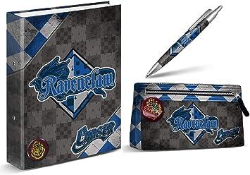 Aucun Carpeta Harry Potter - Ravenclaw - Estuche de lápices de Harry Potter - Ravenclaw + Pluma de Harry Potter - Ravenclaw 14 cm: Amazon.es: Juguetes y juegos