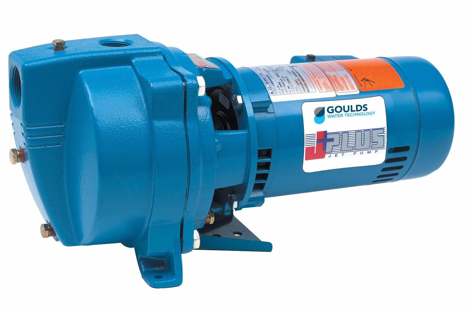 Goulds J5S Shallow Well Jet Pump, 115/230 volt, 1/2 hp