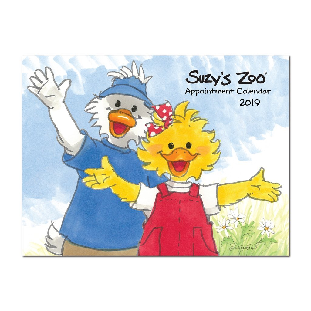 Suzy's Zoo - 2019 Appointment Calendar (9x12)
