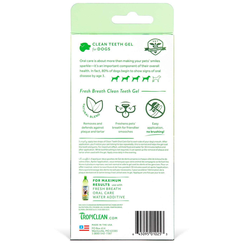 amazon com tropiclean fresh breath plaque remover pet clean