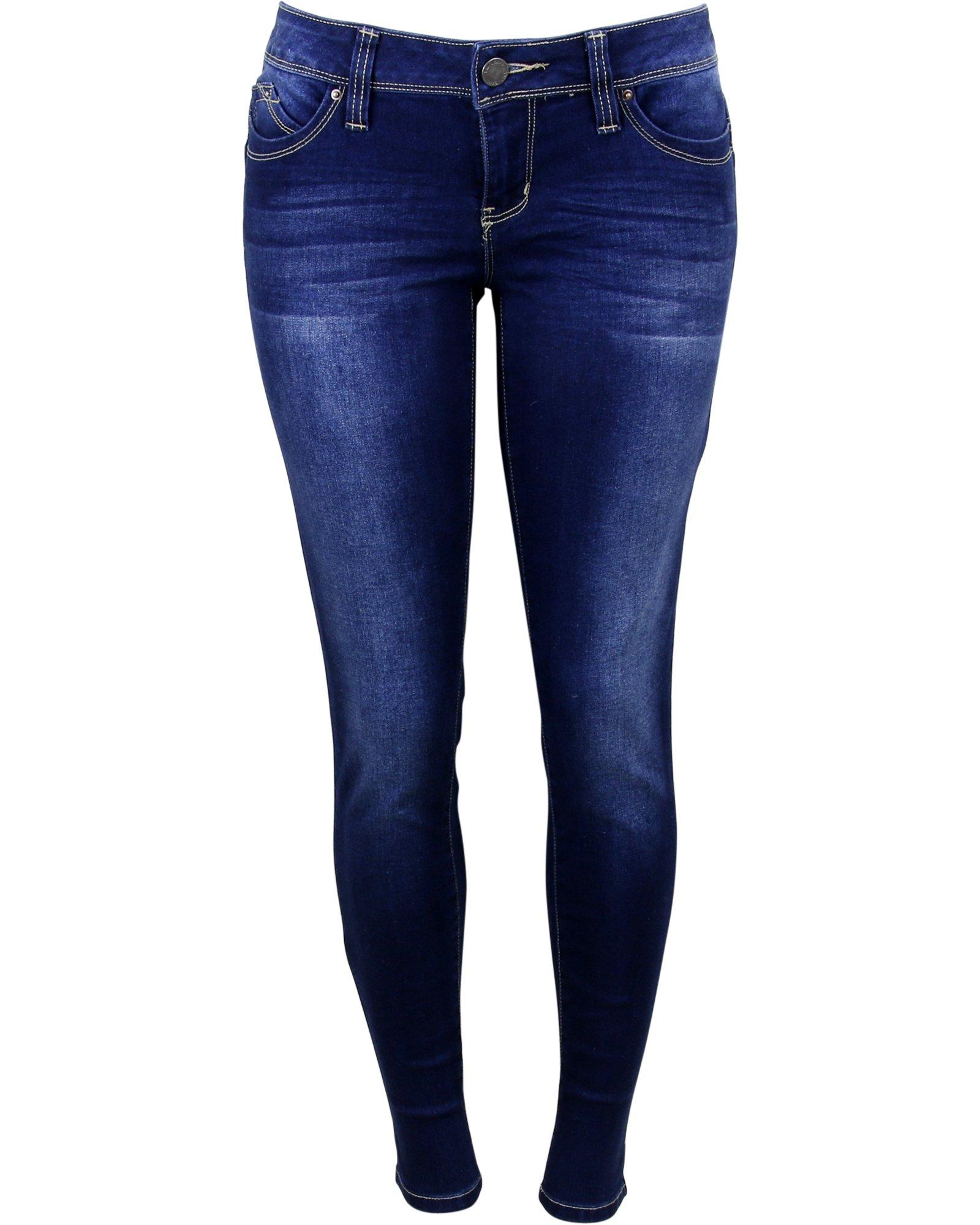 Ymi Women's Betta Butt Jeans,Blue/Blue,13