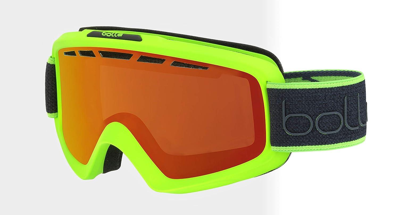 Medium//Large Matte Neon Green Tree Bolle Unisexs Nova II Goggles