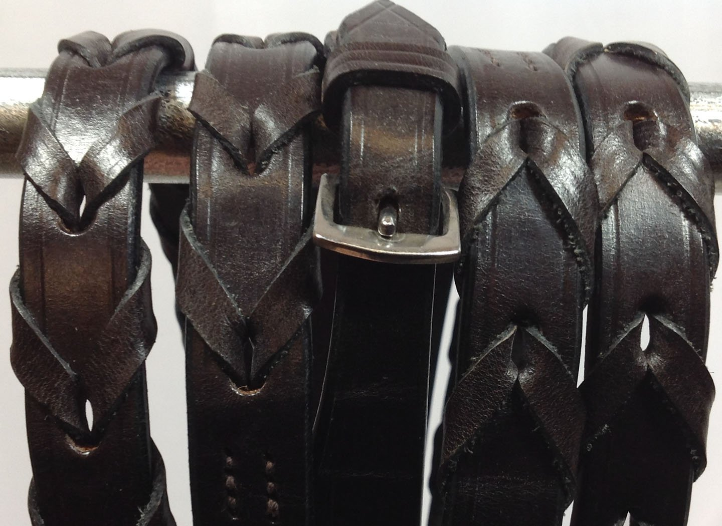 Laced Leather Elite McConnells Reins
