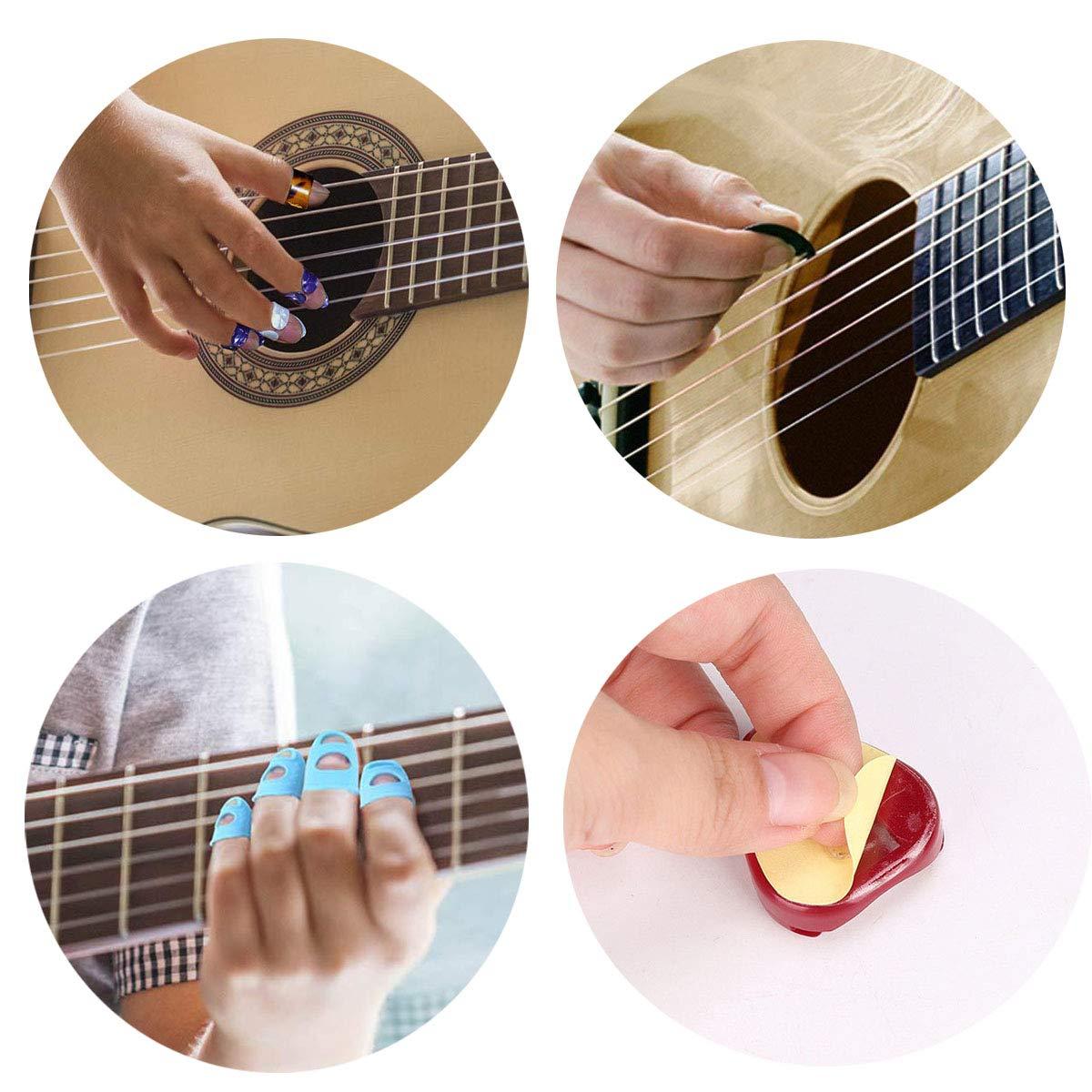 ASPEN BURG 66 piezas Kit de accesorios para guitarra incluyendo ...