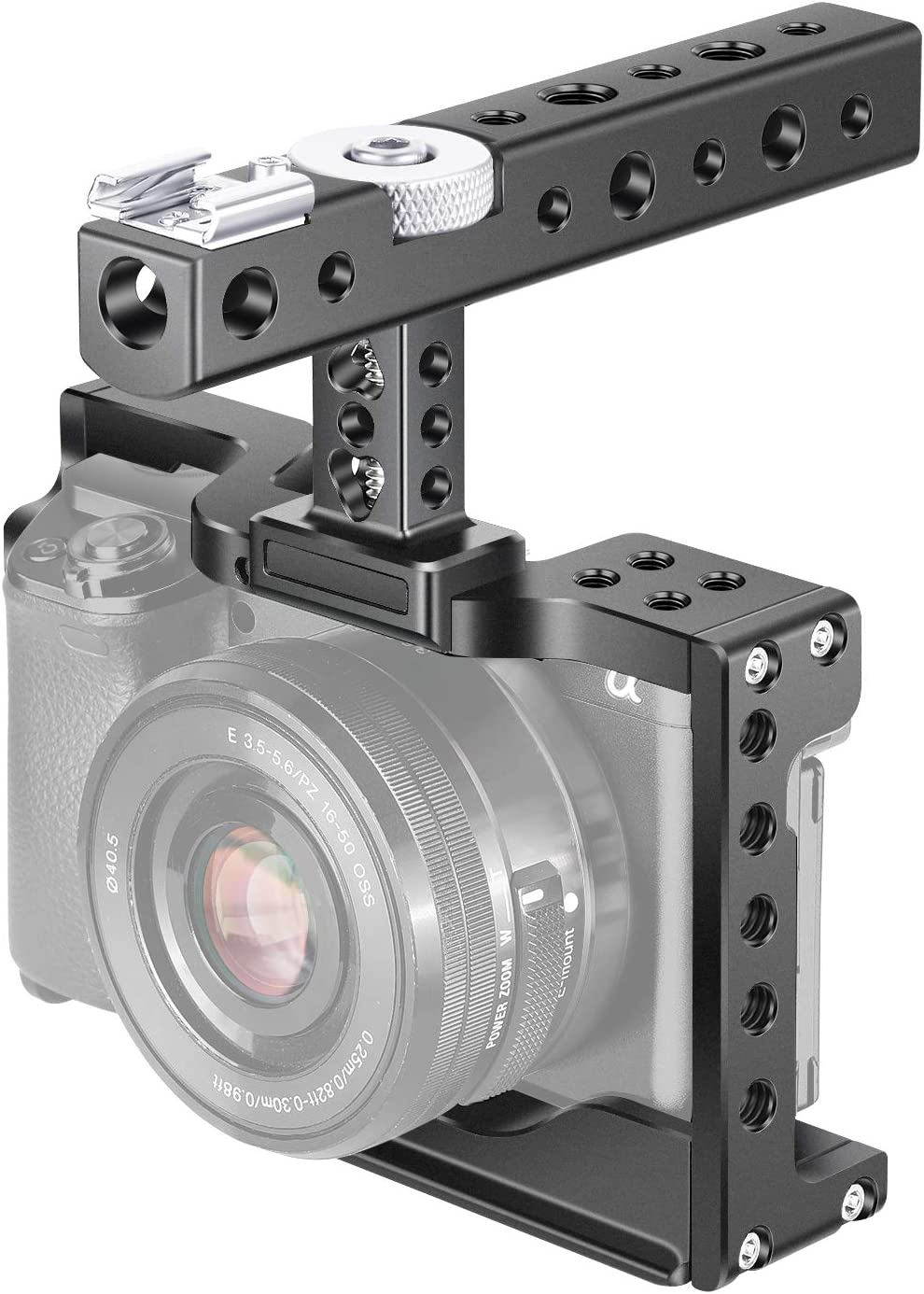 Neewer Camera Cage para Sony Alpha A6600/ILCE 6600