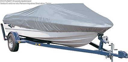 Bootsabdeckung Plane Boot Persenning Wasserdicht Schutz Hülle V-Rumpf 17-19ft De