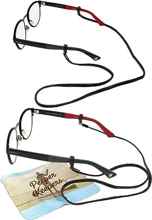 Amazon.com: Peeper Keepers Eyeglass Retainer| Leather