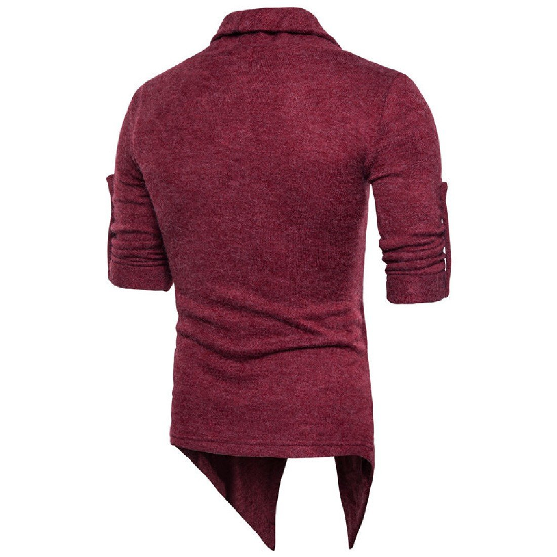 Vivi Mens Outwear Fake Two Silm Fit Knitting Comfy Thick Sweaters
