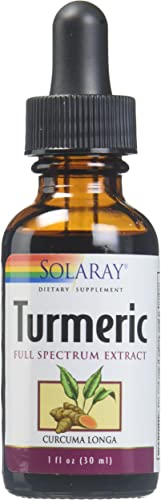 Solaray Turmeric Natural Root Extract Drops, 1 Ounce