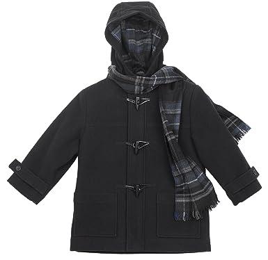 Amazon.com: Rothschild Boys Navy Duffle Coat (2T): Outerwear: Clothing