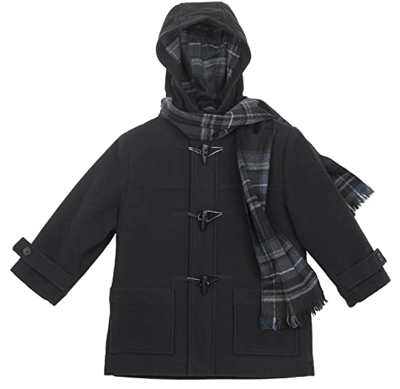 Amazon.com: Rothschild Boys Navy Duffle Coat (2T): Outerwear: Clothing