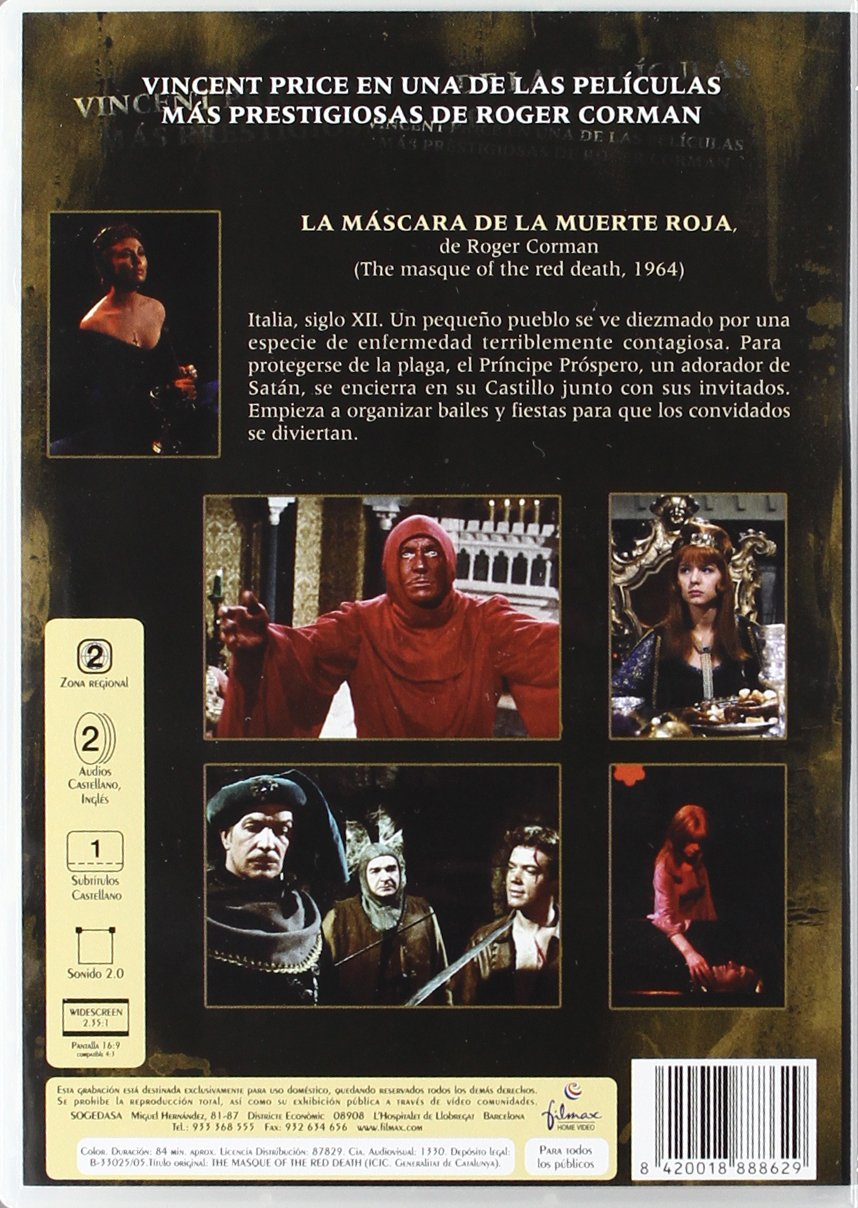 Amazon.com: La Mascara De La Muerte Roja (Import Movie) (European Format - Zone 2) (2005) Varios: Movies & TV