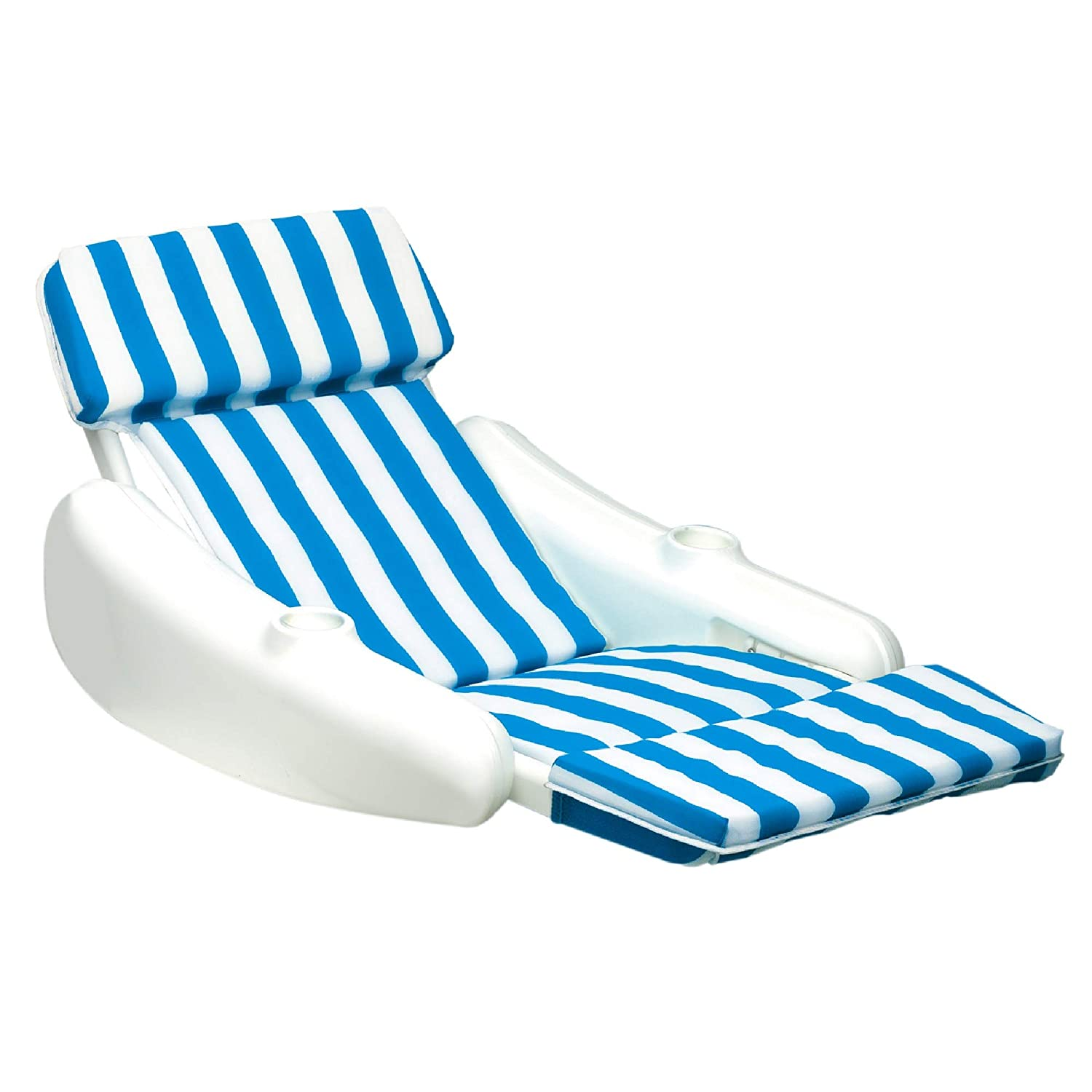 Strange Amazon Com Sunchaser Blue And White Striped Swimming Pool Cjindustries Chair Design For Home Cjindustriesco