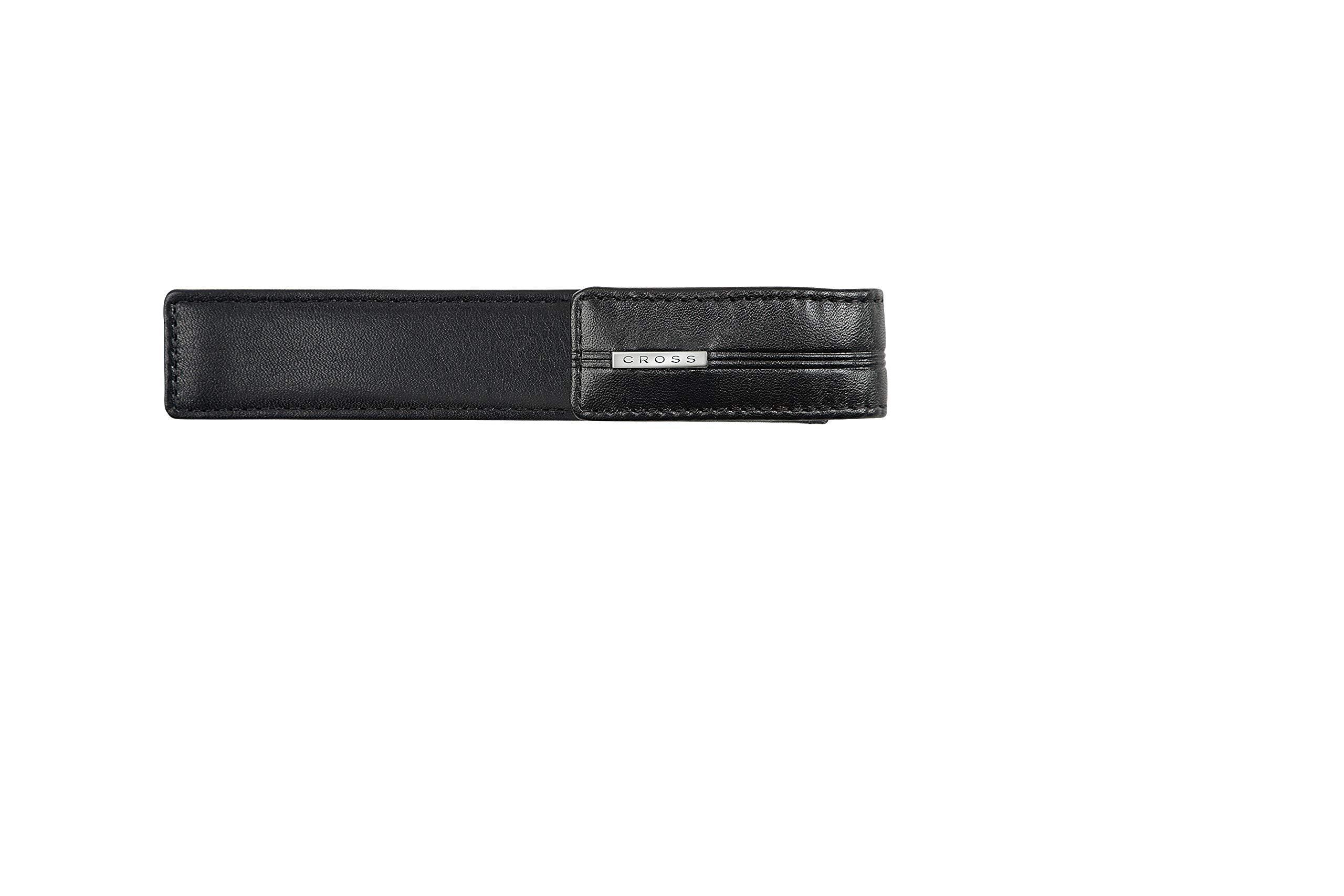 Cross Classic Century Single Pen Case Black Leather (pen not included)