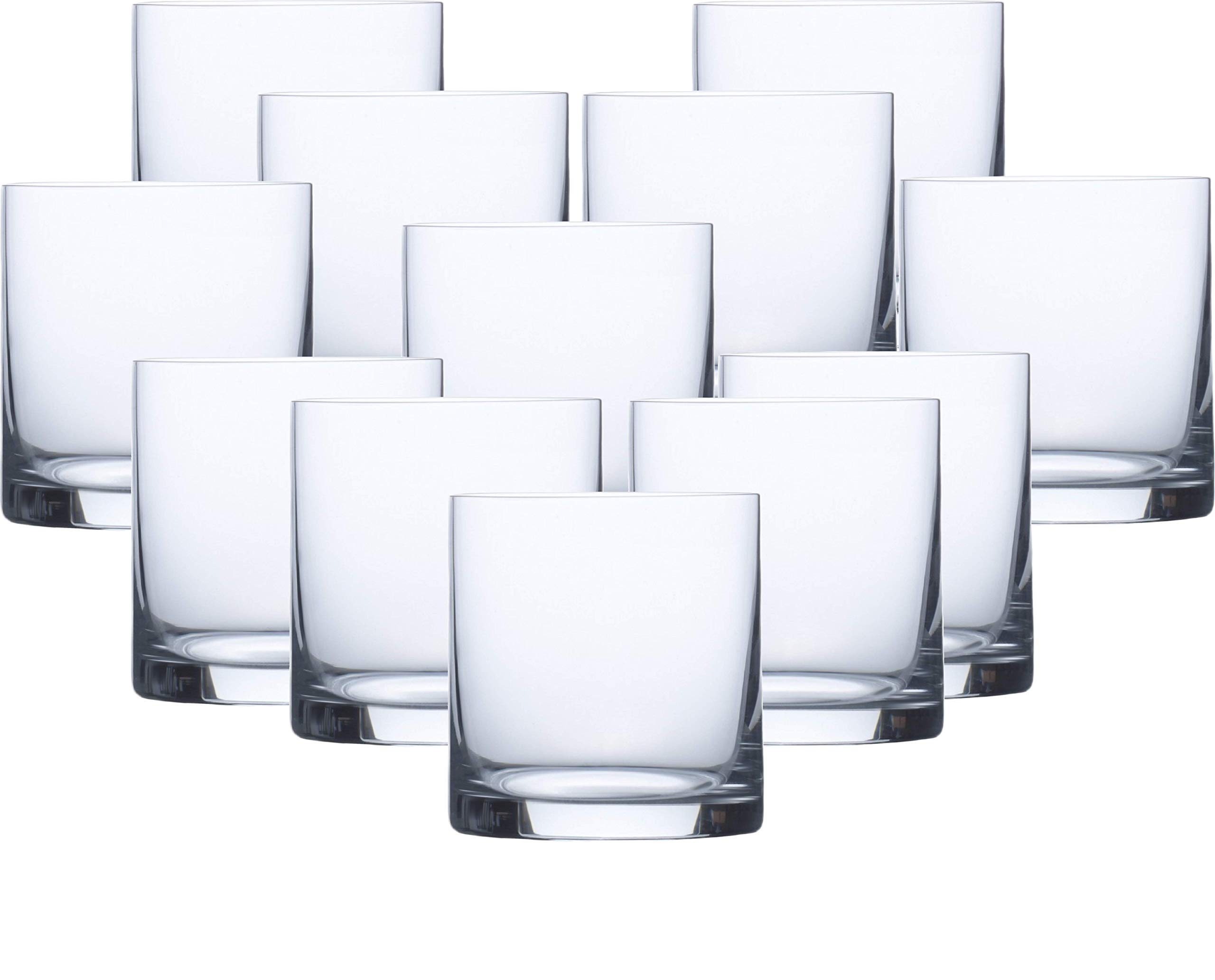 Circleware 04495/AM Soiree Double Old Fashioned Whiskey Glasses, Set of 12 Drinking Glassware for Water, Juice, Ice Tea, Beer, Wine and Liquor Beverages, 15 oz Huge-12pc