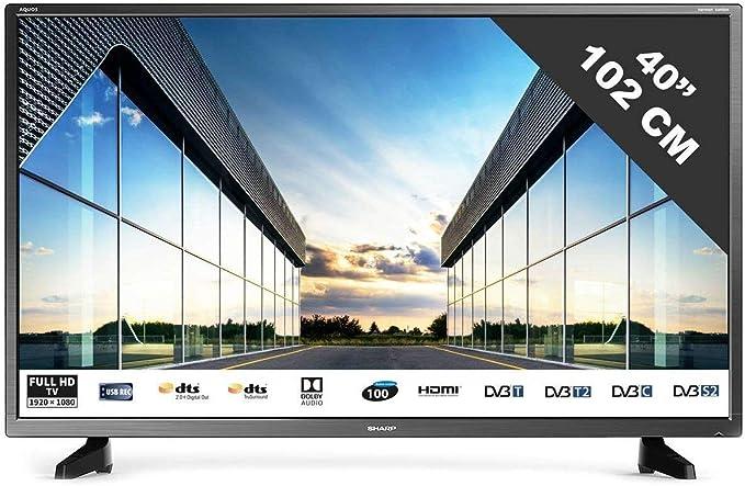 TV LED Full HD 101 cm (40 pulgadas) Sharp 40CF2E: Amazon.es: Electrónica