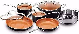 Nonstick Cookware /& Bakeware Set Gotham Steel 25 Piece All in One Kitchen NEW!