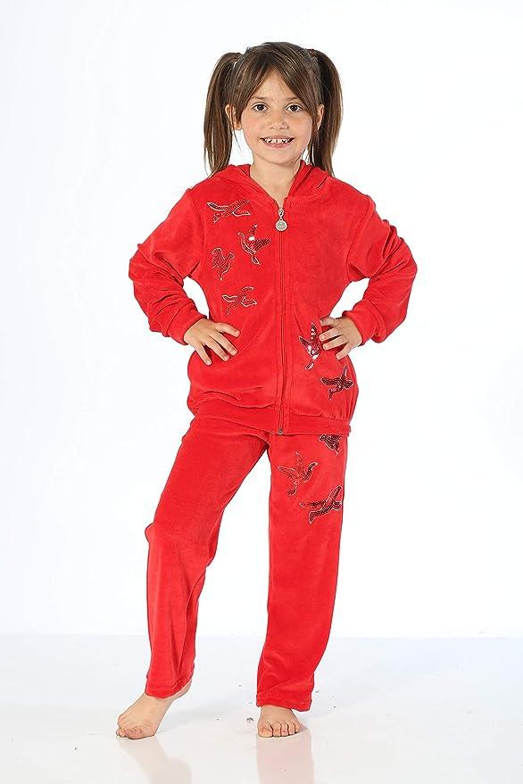 HMD YUPPİ - Chándal para niña Rojo Rosso 7-8 Años: Amazon.es: Ropa ...