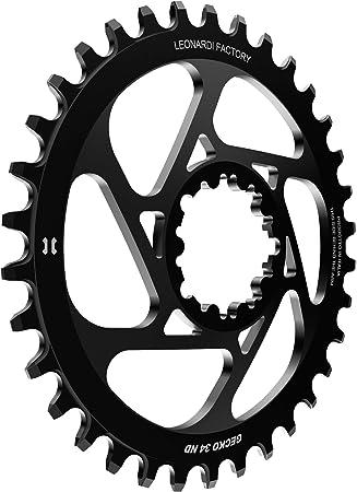 Leonardi Factory Gecko Sram Offset 6 Plato De Bicicleta, Hombre: Amazon.es: Deportes y aire libre