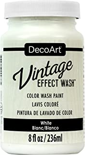product image for DecoArt Vintage Effect Wash 8oz, White