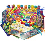 134-Piece Small Toy Assortment for Goody Bags, Party Favors for Kids Birthday Party, Bulk Rewards for Doctor Dentist Office, Items for Treasure Chests, Pinata Filler, Dollar Trees and Carnival Prizes