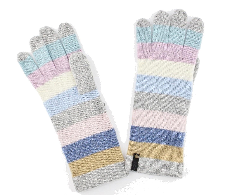 CODELLO PREMIUM Handschuhe mit Streifen-Muster STREIFEN anthrazit 72107403 ( Anthrazit): Amazon.de: Bekleidung
