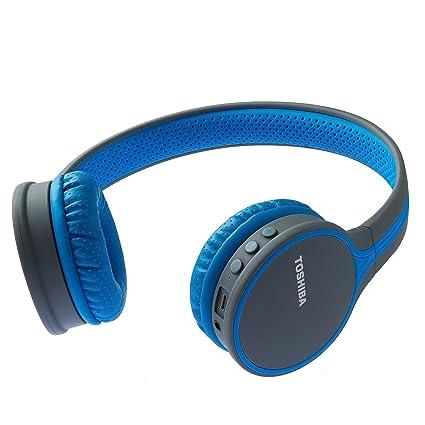 ffa9f5bb343 Toshiba Wireless Headphone RZE-BT180H BLUE: Amazon.in: Electronics